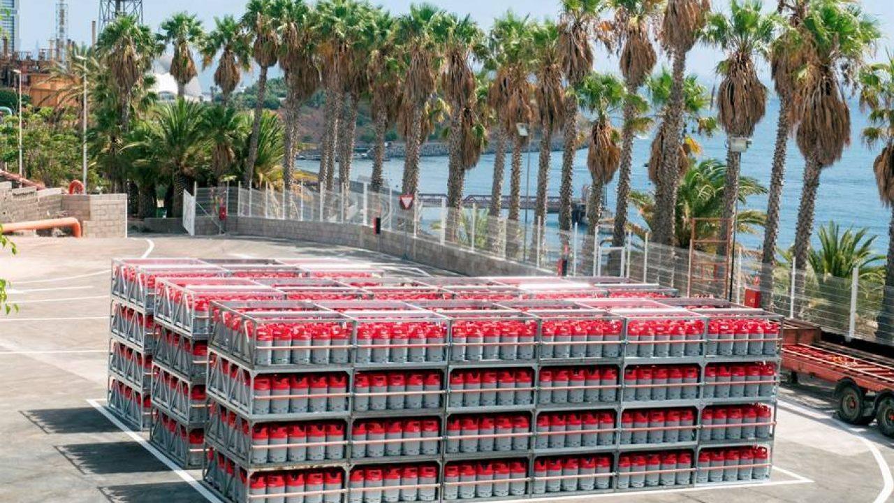 Cepsa lleva sus botellas de butano y propano a La Palma
