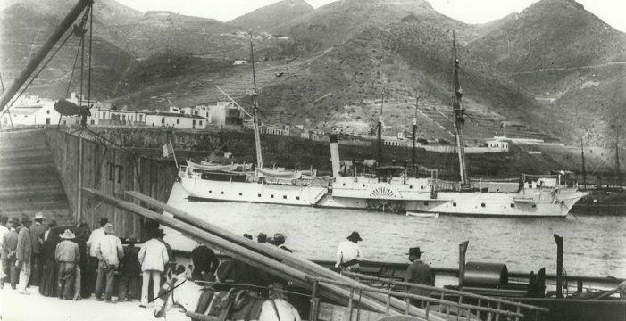 180 años de la llegada del primer vapor a Santa Cruz