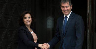 Gobierno central y canario cierran acuerdo sobre el REF   Imagen cedida