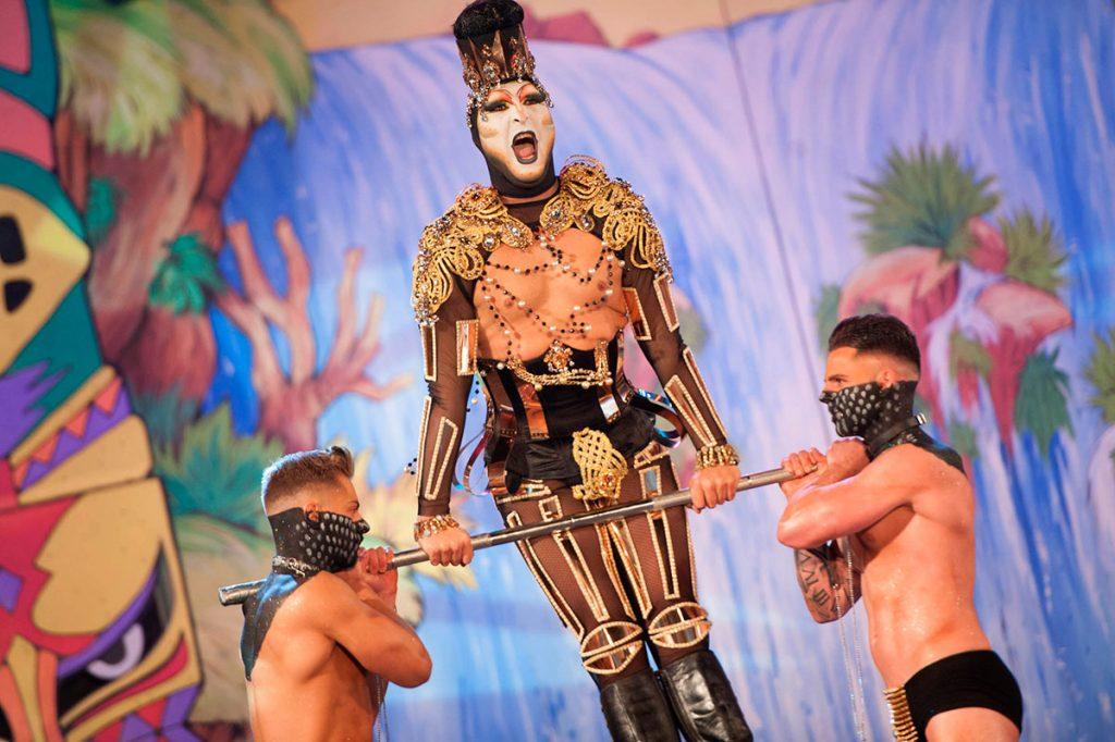 La Gala Drag se mantiene en el Carnaval de Candelaria, pese a ser una idea del exedil Juan Carlos Armas. DA