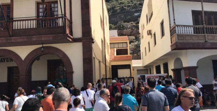 """Manifestación en La Gomera para decir """"basta"""" al maltrato animal"""