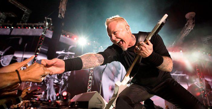 Metallica tocarán en Madrid y Barcelona en febrero de 2018