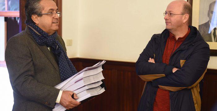XTF-NC acusa a Antonio Alarcó (PP) de mentir en la comisión de las grúas