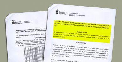 CC retrasó los pagos sanitarios para perjudicar al PSOE