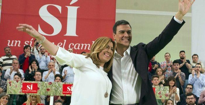 Susana y Sánchez visitan Canarias en una semana clave
