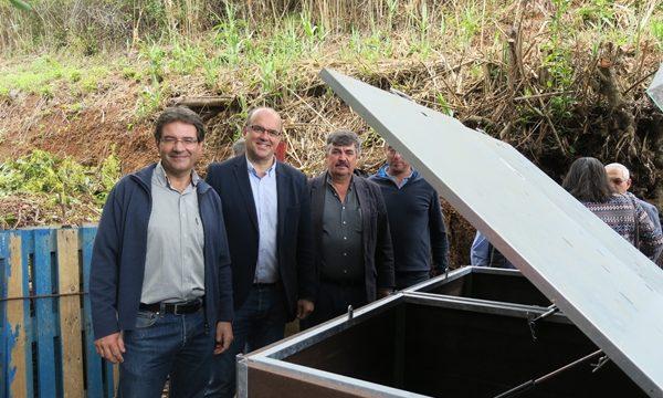 Puntallana estrena el primer punto de compostaje comunitario