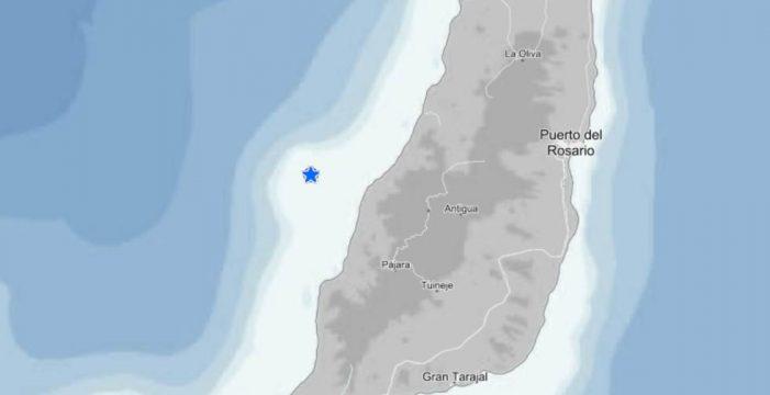 Un terremoto de magnitud 3,4 sacude Fuerteventura