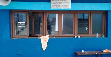 El vandalismo se hace fuerte en las piscinas municipales portuenses