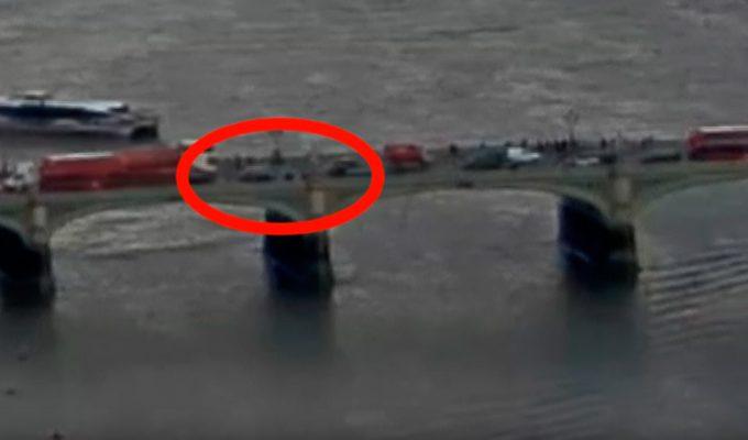 Un vídeo muestra el momento del atropello masivo en el puente de Westminster