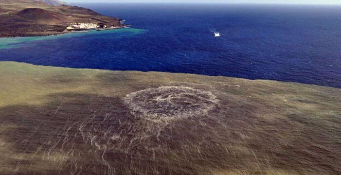 Descubren una nueva bacteria tras la erupción del volcán submarino de El Hierro