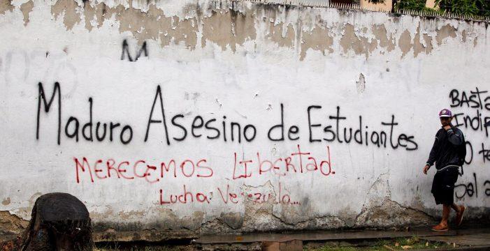 Ya son cinco los muertos por las protestas en las calles de Venezuela