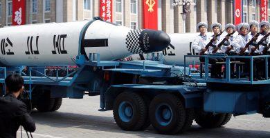 Imágenes de los desfiles del Día del Sol en Corea del Norte | REUTERS/Damir Sagolj