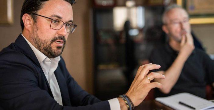"""El tercer grado de Diario de Avisos Asier Antona: """"Clavijo se ha convertido en el mejor delegado del Gobierno de España en Canarias"""""""