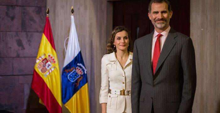 La visita de los Reyes a Canarias ha costado más de 6.300 euros
