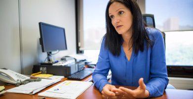Zaida González (PP) es la primera teniente de alcalde de Santa Cruz y concejal de Seguridad y Movilidad
