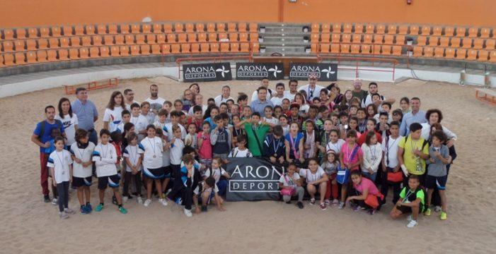 Éxito en la primera jornada de los Juegos Municipales Arona por lo Nuestro