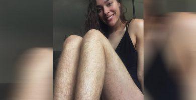 Una bloguera de fitness apuesta por la belleza natural y muestra su cuerpo sin depilar