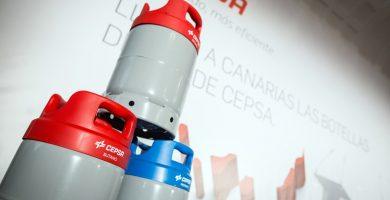 Llega a Canarias la botella de gas envasado Innova de Cepsa