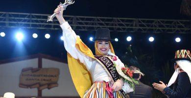 Cristina Yanes Jorge es la nueva Reina de las Fiestas de Mayo de Santa Cruz