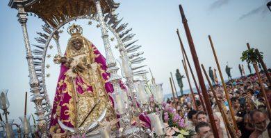 Ceremonia que representa la aparición de la Morenita a los guanches | ANDRÉS GUTIÉRREZ