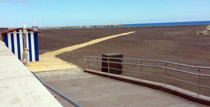 El jueves abrirá las puertas a los bañistas la playa de Santa Cruz de La Palma