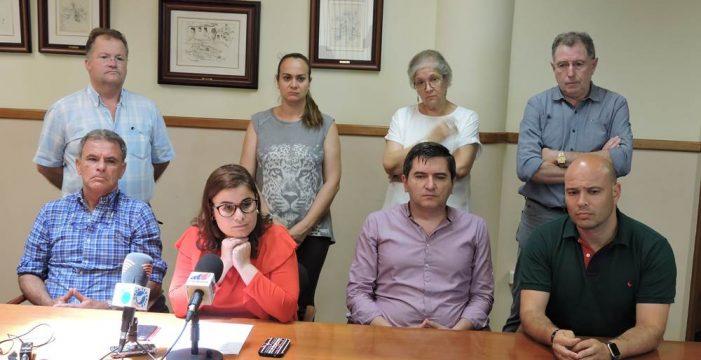 Los socialistas echan del Gobierno de Candelaria a Coalición Canaria