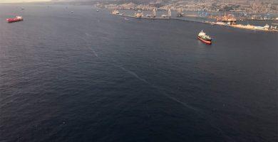 Finaliza la situación de prealerta por el vertido de gasóleo en Las Palmas