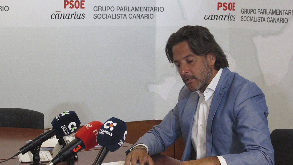 Gustavo Matos, portavoz de Industria y Energía del Grupo Parlamentario Socialista. EUROPA PRESS