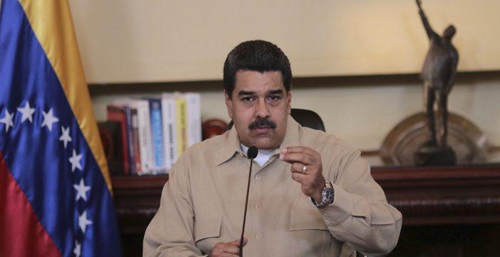 Maduro acusa a altos cargos de la oposición de planificar un golpe de Estado para el 24 de junio