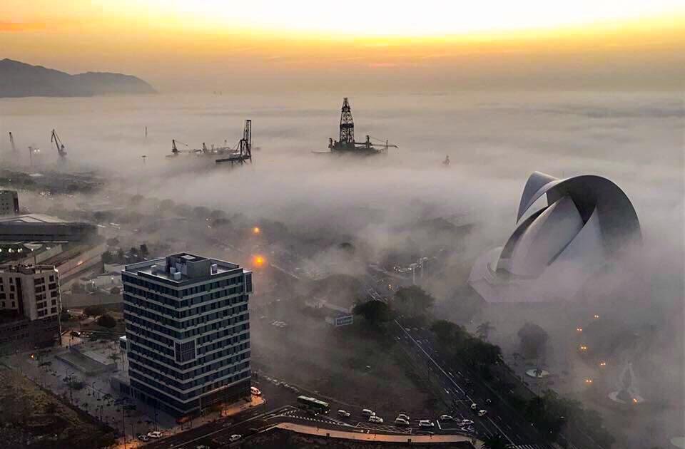 Niebla en SC