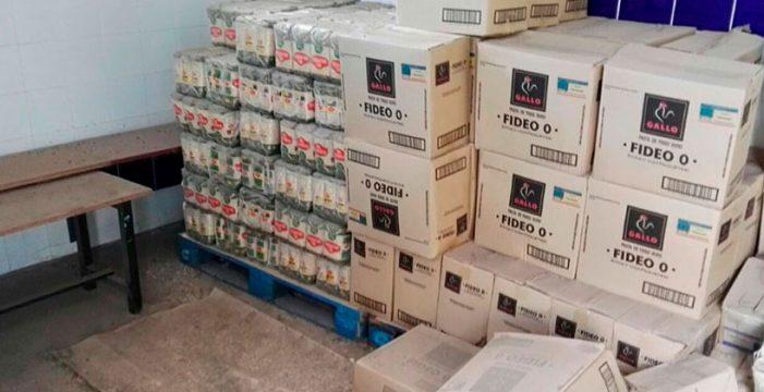 Más de una tonelada de alimentos de Europa no se entregaron a familias necesitadas del Sur