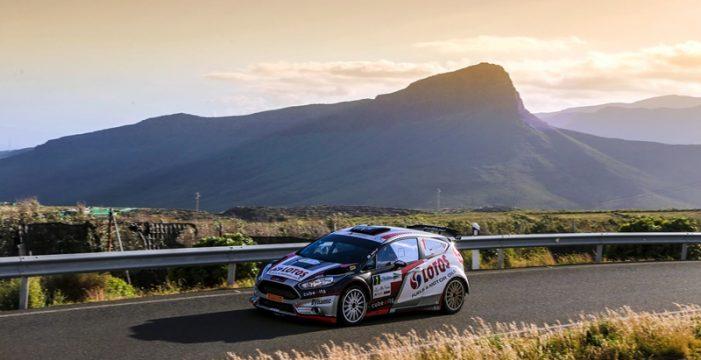 Bruno Magalhaes abre la lista oficial del Rally Islas Canarias