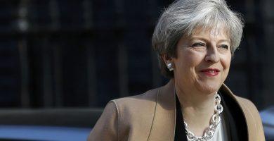 Theresa May, primera ministra de Reino Unido. REUTERS/Stefan Wermuth