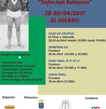 El Hierro listo para acoger el Trofeo Juan Barbuzano de equipos cadetes