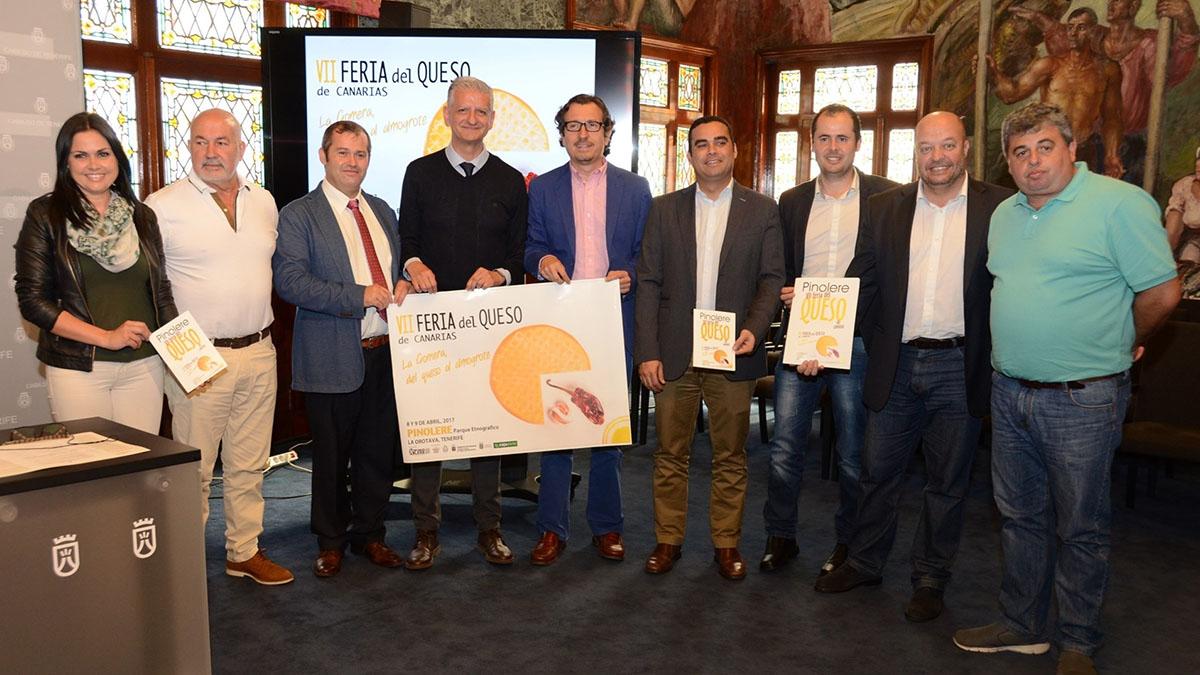VII Feria del Queso de Canarias. EUROPA PRESS