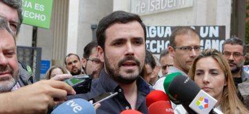 IU pide la imputación de Aguirre, Bárcenas y el PP