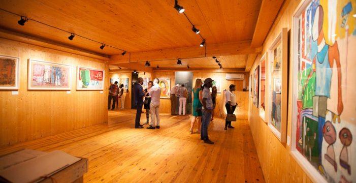 La 'embajadora' del arte contemporáneo de Angola es vasca