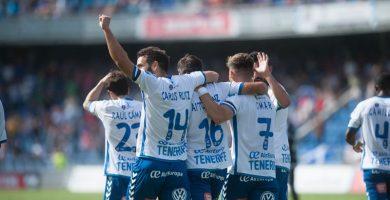 El Tenerife sigue firme hacia el play-off y mete en un lío al Alcorcón (1-3)