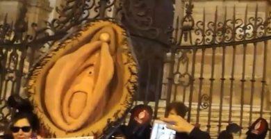 Procesadas las tres investigadas por la procesión del  'Santísimo Coño Insumiso'