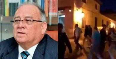 Escrache al embajador de Venezuela en España