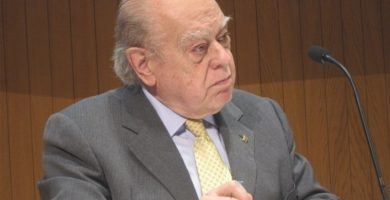 Registran el despacho del expresidente de la Generalitat Jordi Pujol