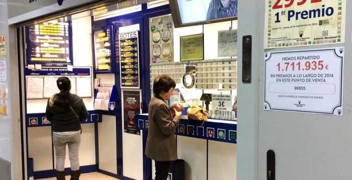 Vuelve la suerte: cae en Tenerife el primer premio de la Lotería Nacional