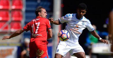 El Tenerife deja escapar la victoria ante el Numancia (1-1)