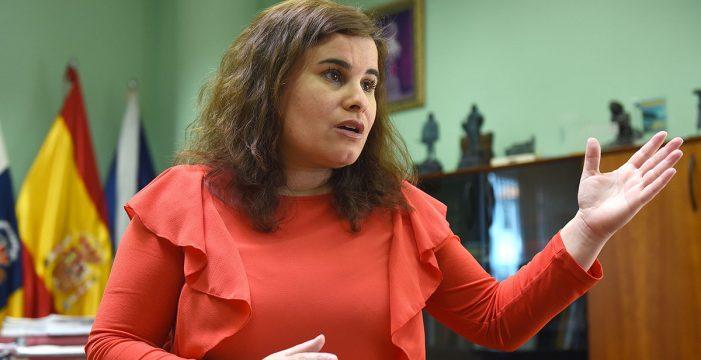 La alcaldesa de Candelaria, lista para gobernar en minoría y sin CC