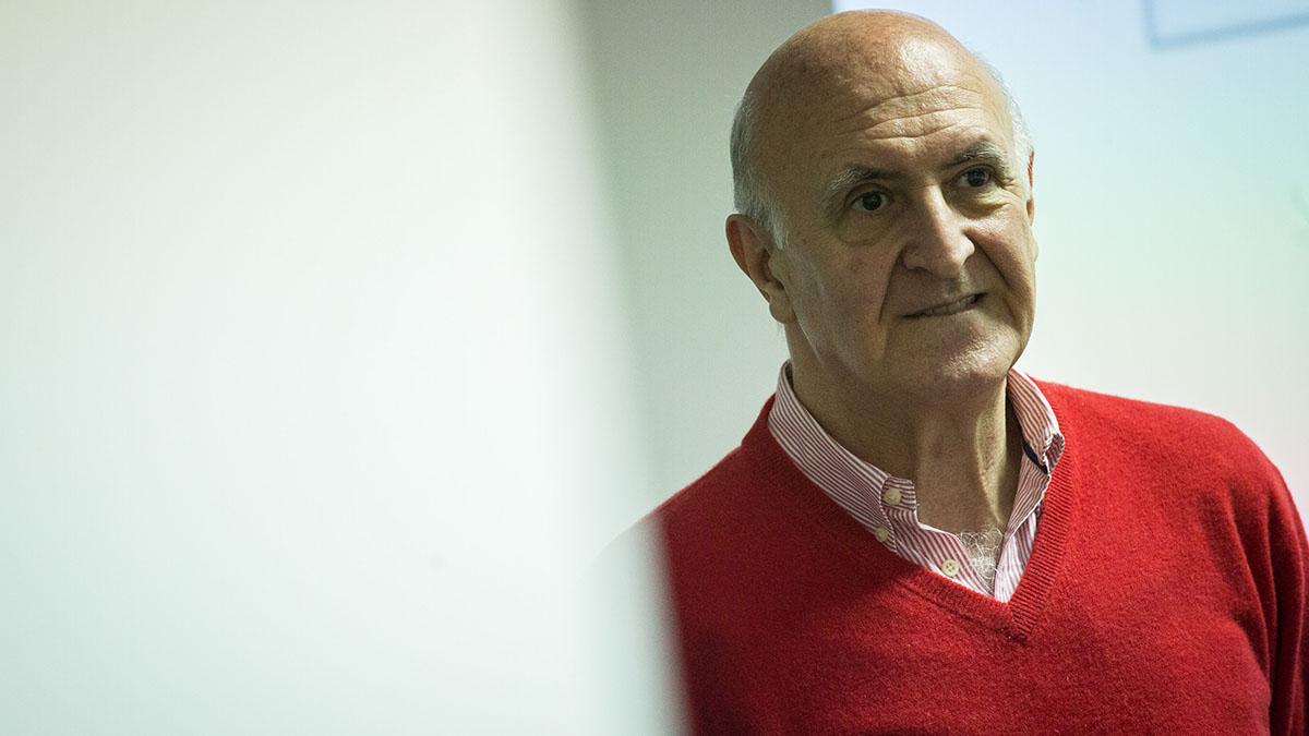 Antonio Cano, doctor en Psicología y presidente de la Sociedad Española para la Ansiedad y el Estrés. Andrés Gutiérrez