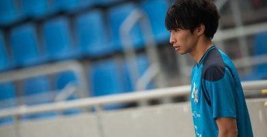 Gaku Shibasaki jugó el pasado sábado su mejor partido desde que es futbolista del CD Tenerife. Fran Pallero