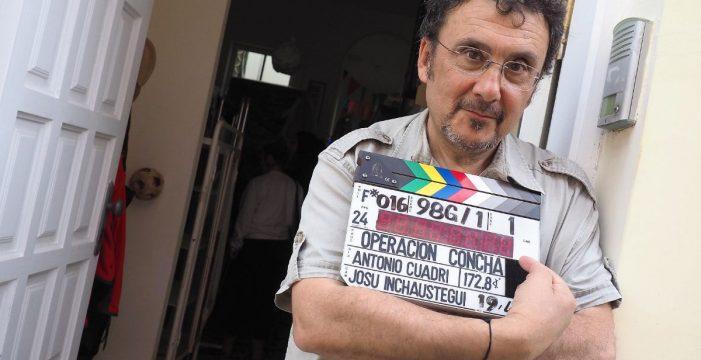 Jordi Mollà y Karra Elejalde ruedan 'Operación Concha' esta semana en Tenerife