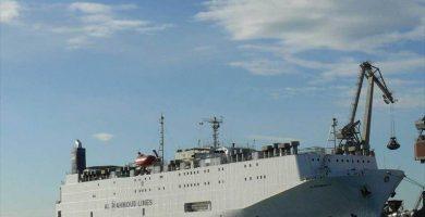 Las Palmas prohíbe al 'barco apestoso' fondear frente a la ciudad