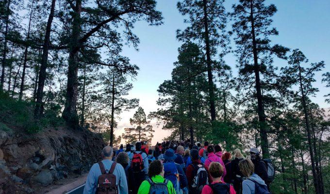 Más de 1.500 peregrinos recorren el camino del Hermano Pedro