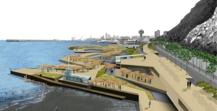 El Gobierno de Canarias se compromete a financiar la playa de Valleseco